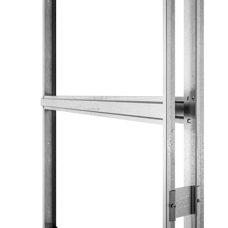 Image: a product image of an 800 x 800 pocket door horizontal.
